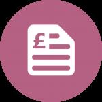 Invoice document icon