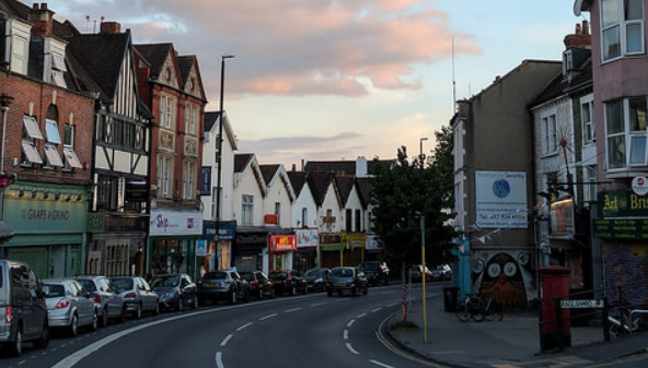 photo of gloucester road shops, Bristol